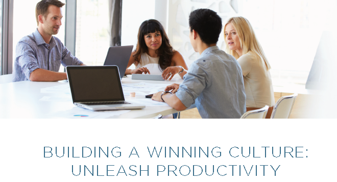 Building A Winning Culture Unleash Productivity